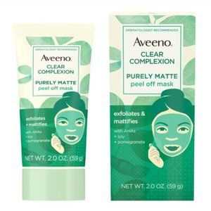 Aveeno Clear Complexion Purely Matte Peel Off Face